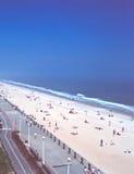 Virginia Beach en de Atlantische Oceaan Royalty-vrije Stock Afbeeldingen