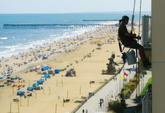 Virginia Beach, la Virginie, Etats-Unis photo libre de droits