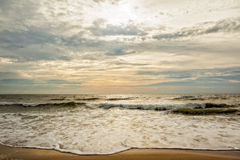 Virginia Beach Morning Royalty Free Stock Image