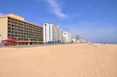 Virginia Beach Oceanfront, Virginia Stock Photography