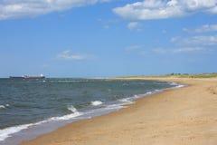 Virginia Beach. Sands of Virginia beach, USA Royalty Free Stock Photos