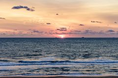Virginia Beach Sunrise, Virginia Beach, Virginia Stock Foto's