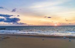 Virginia Beach Sunrise, Virginia Beach, Virginia Stock Foto