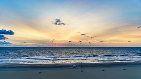 Virginia Beach Sunrise, Virginia Beach, Virginia Royalty-vrije Stock Foto
