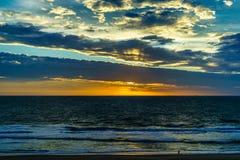 Virginia Beach Sunrise, Virginia Beach, la Virginie image libre de droits