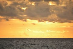 2018 Virginia Beach sunrise royalty free stock images