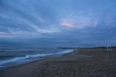 Virginia beach sunrise pier Royalty Free Stock Photo