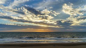 Virginia Beach Sunrise, Virginia Beach, Virgínia fotografia de stock royalty free