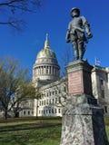 Virginia Capitol ad ovest fotografie stock