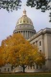 Virginia Capitol ocidental na queda imagem de stock