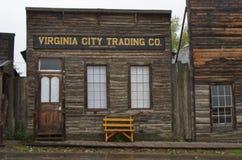 Virginia City, Montana, royalty-vrije stock afbeelding