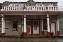 Virginia City, Montana, Operahuis royalty-vrije stock afbeelding