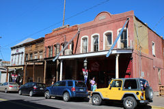 Virginia City, Nevada royalty-vrije stock afbeelding
