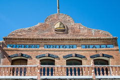 Virginia City Nevada, Miners Union Hall Royalty Free Stock Image
