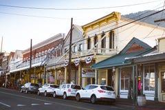 Virginia City Nevada Western Town Fotografía de archivo libre de regalías
