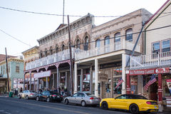 Virginia City Nevada Western Town Stock Images