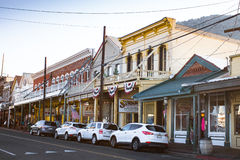 Virginia City Nevada Western Town Royalty Free Stock Photography