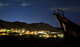 Virginia City Night Stock Image