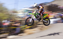 Virginia City Racer Jumping Royalty Free Stock Image