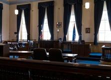Virginia City, tribunale del Nevada, la contea di Storey Immagini Stock Libere da Diritti