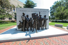 Virginia Civil Rights Memorial Imagens de Stock