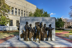Virginia Civil Rights Memorial royaltyfria bilder