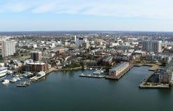 Virginia Coast Aerial Stock Photo
