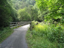 Virginia Creeper Trail Royalty Free Stock Photos