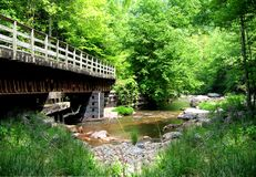 Virginia Creeper Trail Stock Photo