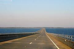 Virginia Dare Memorial Bridge Outer-Banken Stockfotos