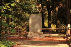Virginia Dare Monument Royalty Free Stock Images