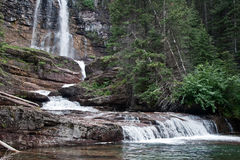 Virginia Falls, Glacier National Park Royalty Free Stock Photo