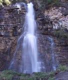 Virginia Falls in Glacier National Park Fotografie Stock Libere da Diritti