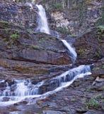 Virginia Falls in Glacier National Park Stock Image