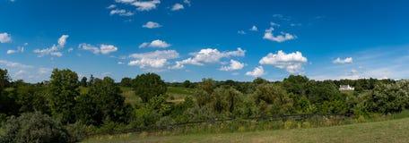 Virginia farm and Vineyard Land Royalty Free Stock Photos