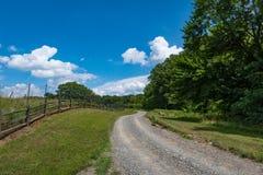 Virginia farm and Vineyard Land Stock Photos