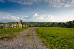 Virginia Farmland imagen de archivo libre de regalías