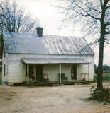 Virginia-Haus 1968 stockbild