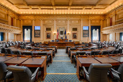 Virginia House Chamber stock image