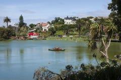 Virginia Lake, Wanganui Royalty-vrije Stock Afbeeldingen