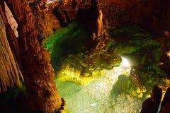 Virginia Luray Caverns souhaitant bien Photos stock