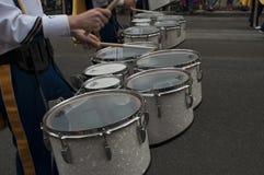 Virginia Marching Band del oeste Imagen de archivo libre de regalías