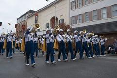 Virginia Marching Band del oeste Fotos de archivo
