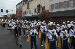 Virginia Marching Band del oeste Imagen de archivo