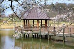 Virginia Meadowlark Gardens Spring Gazebo Stock Images