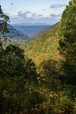 Virginia Mountain View occidentale photo stock