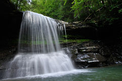 Virginia Mountain Waterfall ocidental imagem de stock royalty free
