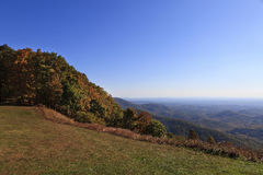 Virginia Mountains in the Fall Royalty Free Stock Photos