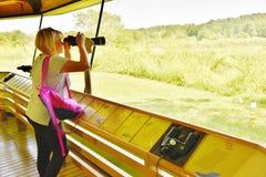 Virginia national wildlife refuge visitor center  traveler Stock Photography