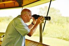 Virginia national wildlife refuge visitor center volunteer Royalty Free Stock Photos